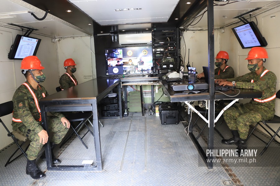 Philippine Army Receives New MCC4 Mobile Command Center