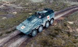 Royal Netherlands Army Boxer ATV Ambulance