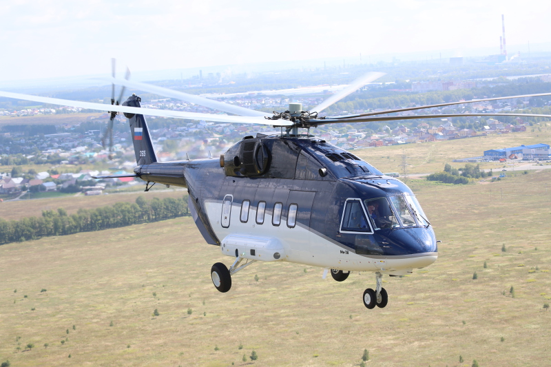 Mi-38 VIP Helicopter