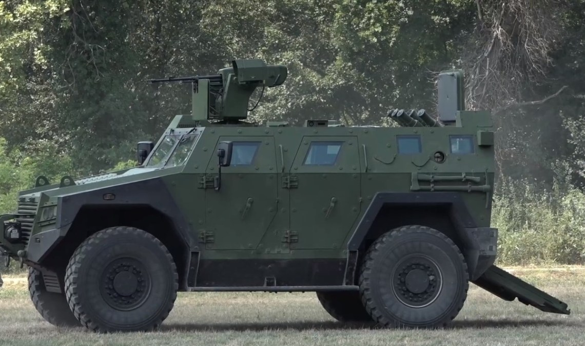 The Milosh BOV M16 is a new armoured vehicle manufactured by Yugoimport-SDPR in Velika Plana, Serbia.