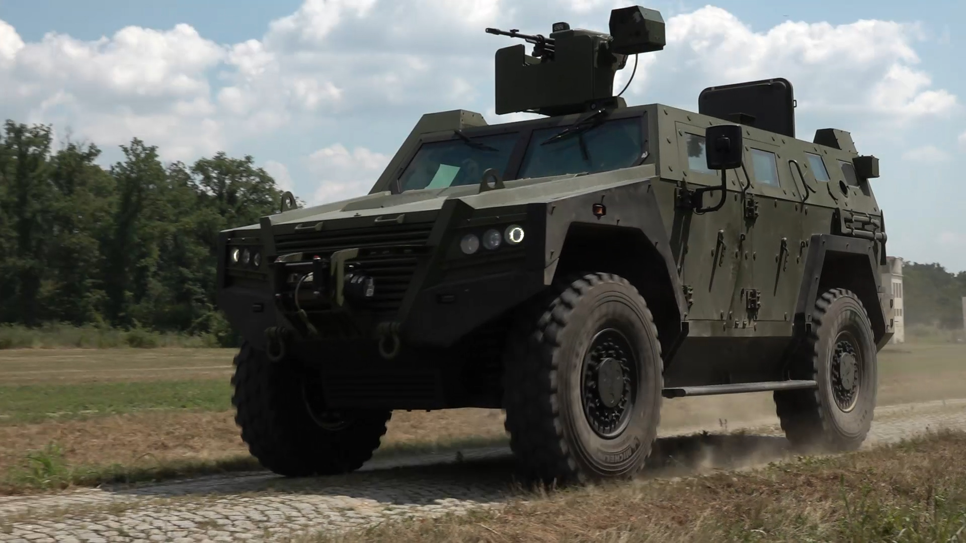 Serbian Armed Forces Unveils Milosh 4×4 Armoured Multi-Purpose Combat Vehicle