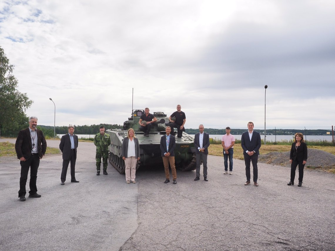 Swedish Army Receives 100th CV90 Infantry Fighting Vehicle