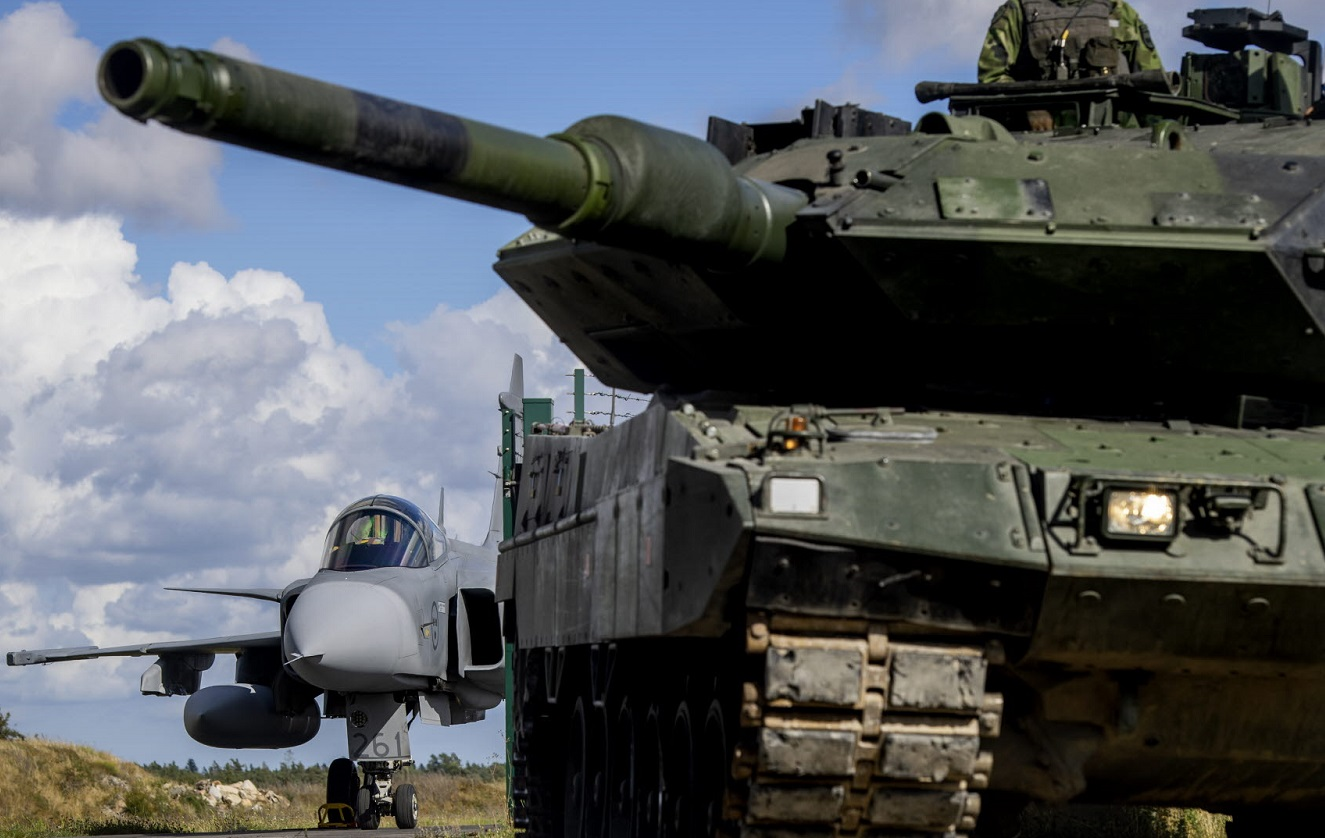 Swedish Baltic Defense Exercise is Signal to Russia