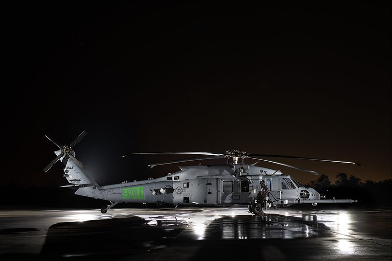 Sikorsky HH-60W Jolly Green II Combat Rescue Helicopter