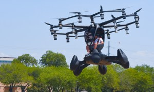 US Air Force Top Leaders Witness First Agility Prime Flying Car Demo