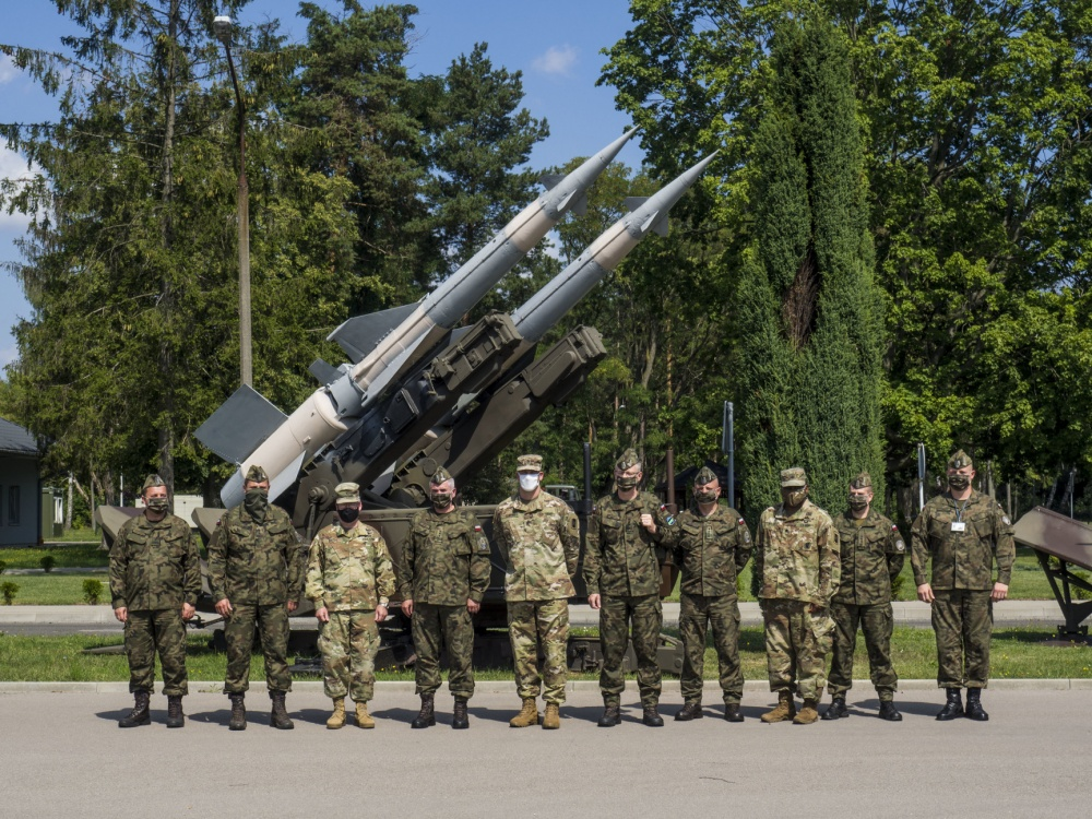 US Army and Poland Coordinate Air Defense Integration