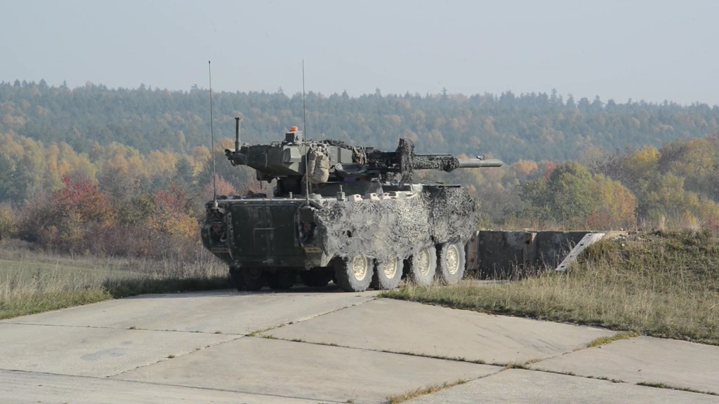 U.S. Army  M1128 Mobile Gun System (MGS)