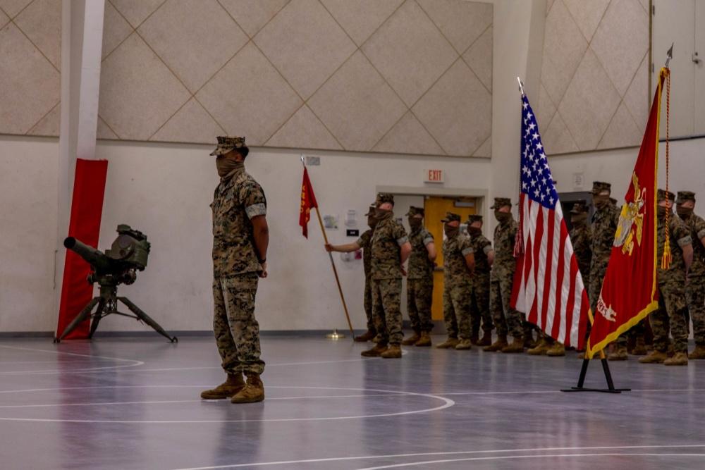 US Marine Corps 4th Tanks Battalion Deactivation