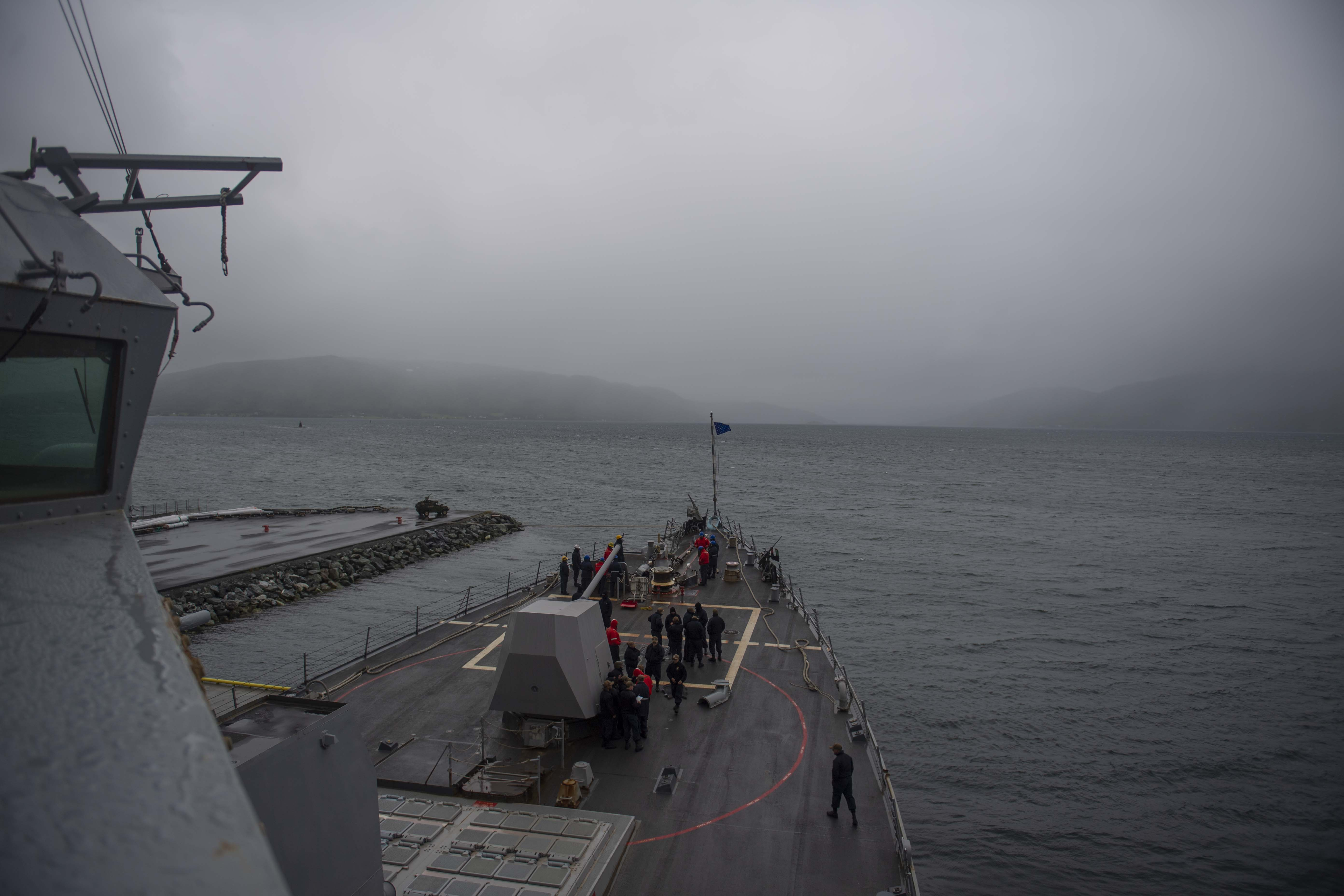 Arleigh Burke-class guided-missile destroyer USS Roosevelt (DDG 80)