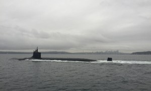 US Navy USS Seawolf (SSN 21) Operating In Norwegian Sea