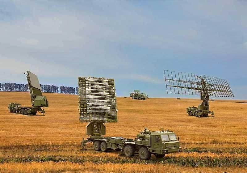 55Zh6M Nebo-M Radar System