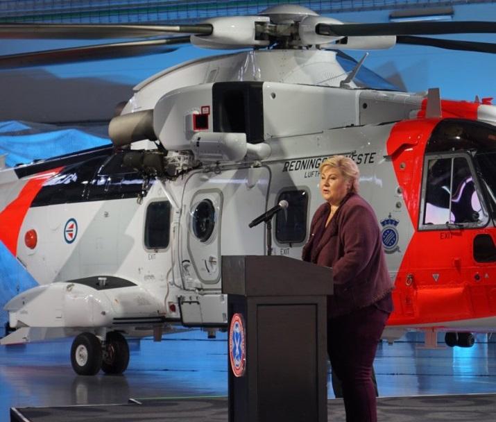 AW101 SAR Helicopter Enter Norwegian Service