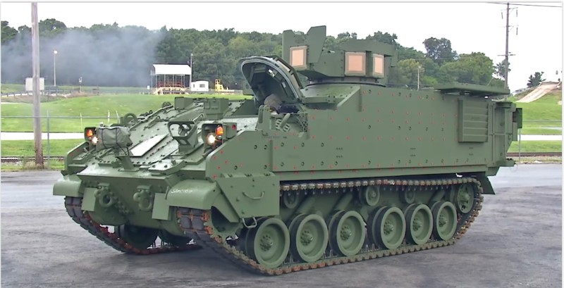 BAE Systems Delivers Armored Multi-Purpose Vehicle (AMPV) to US Army