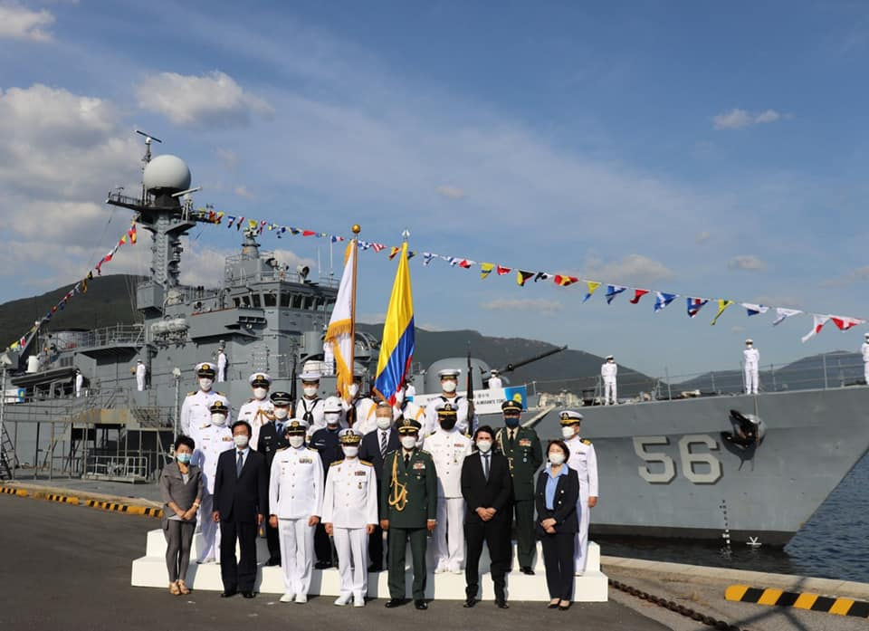Colombian Navy Receives Second Corvette from South Korea