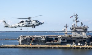 Helicopter Maritime Strike Squadron (HSM) 70 Conduct Flight Operations In-Port