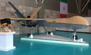 Iran's Islamic Revolution Guards Corps (IRGC) Aerospace Force has unveiled a synthetic aperture radar fitted to the Shahed 129 drone, as well as a new generation of Zolfaqar naval missile which is said to have a range of 700 km. (FNA photo)