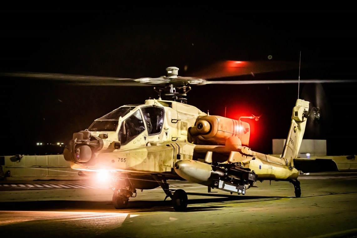 Israeli Air Force Boeing AH-64 Apache Attack Helicopter