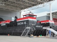 Kalashnikov Unveils Air Cushion Ship Haska-10