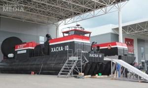 Kalashnikov Unveils Air Cushion Ship Haska-10