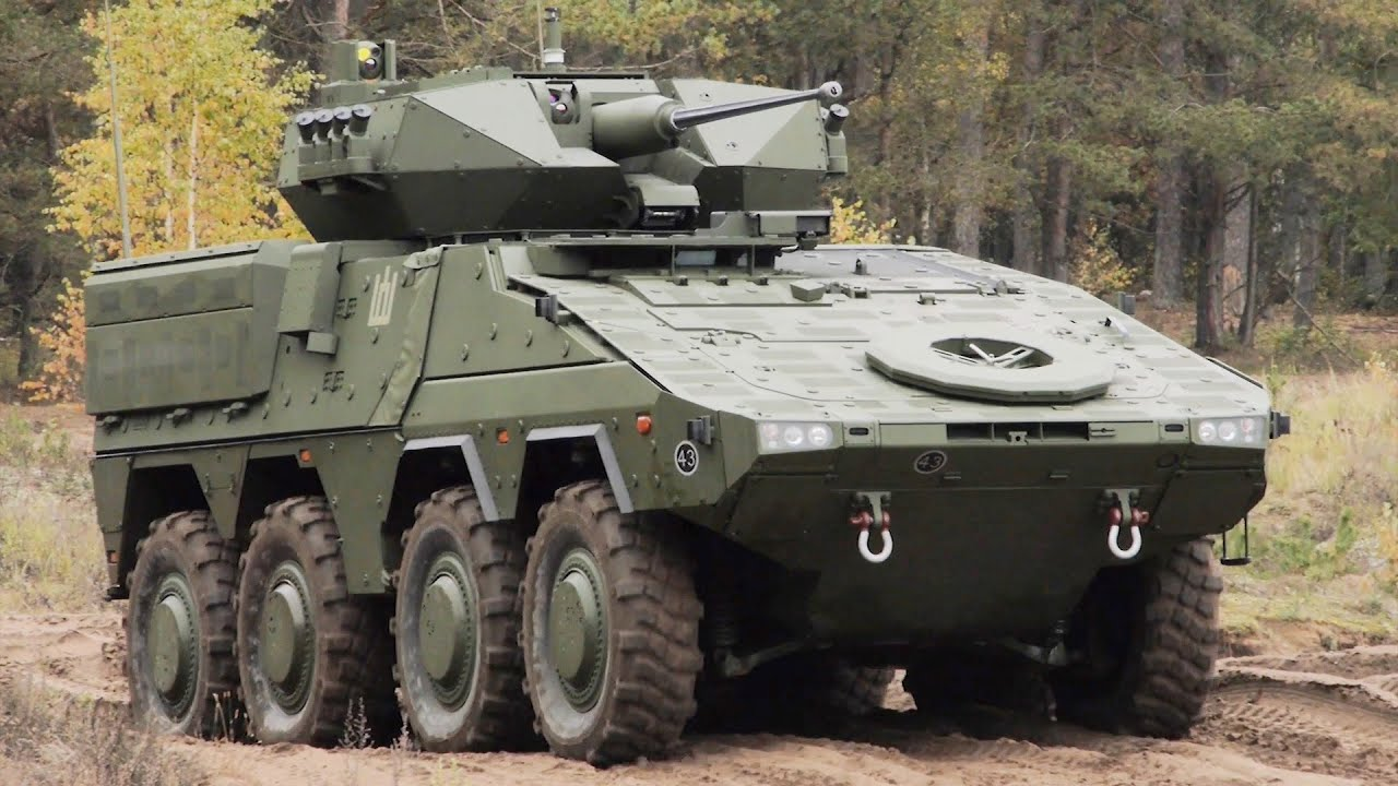 Lithuanian Land Force Vilkas Infantry Fighting Vehicles