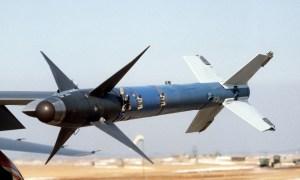 AIM-9M Sidewinder short-range air-to-air missile