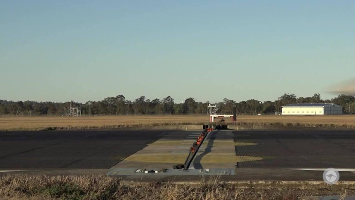 Royal Australian Air Force F/A-18F - Aircraft Arrestor System