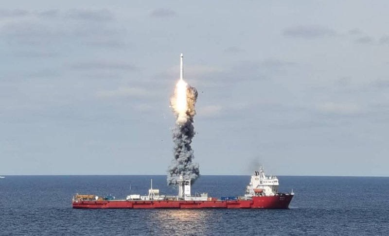 Sea Launch of Long March Rocket Points to New Chinese Capability