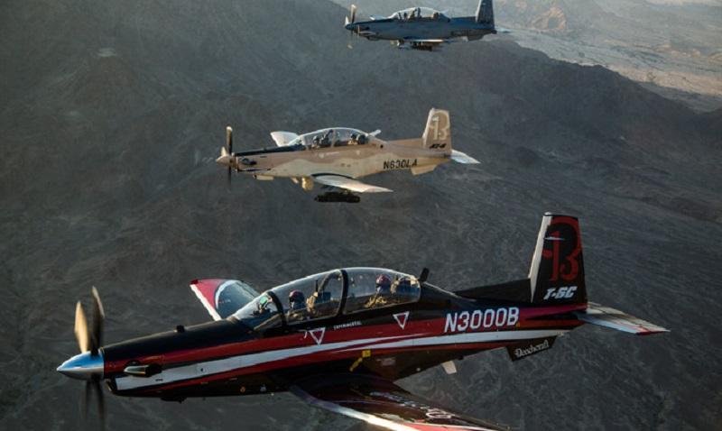 Beechcraft® T-6C Texan II Military Training Aircraft