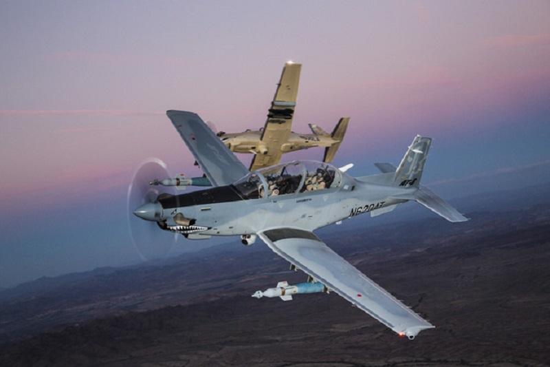 Thailand Orders 12 Beechcraft T-6C Texan II Advanced Military Training Aircraft
