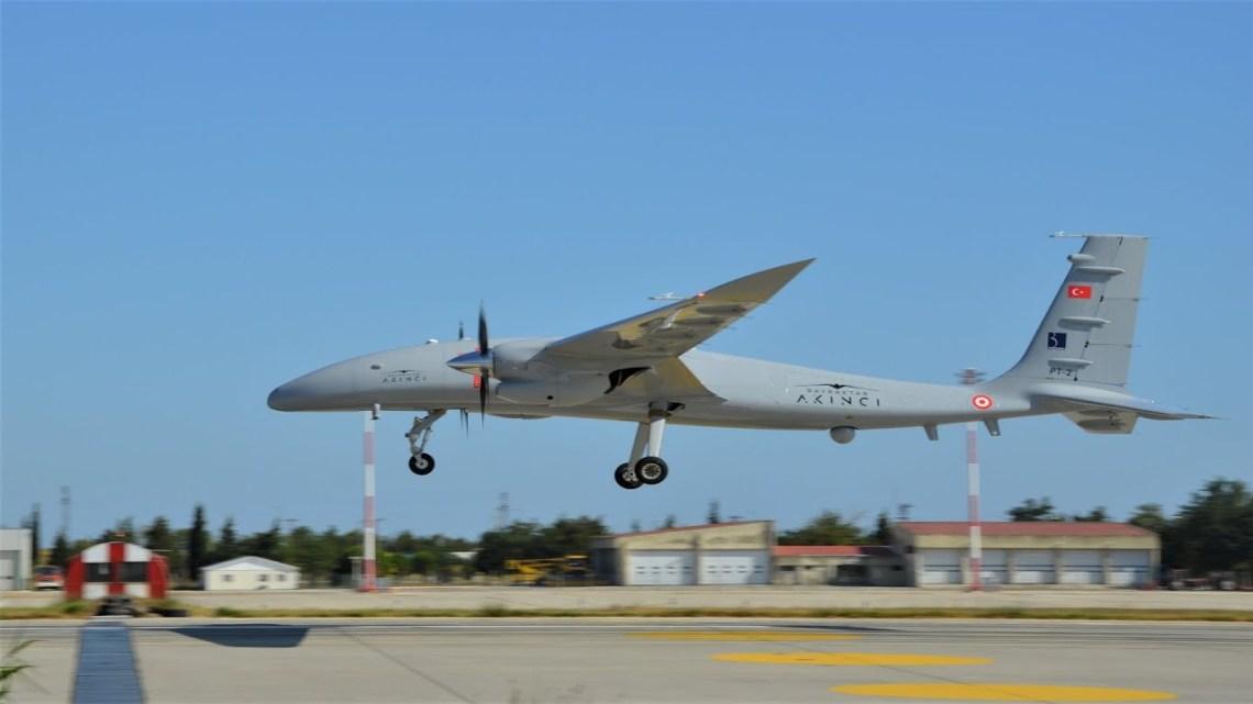 Turkish Bayraktar Akinci Combat Drone Passes 20,000-feet Altitude Test