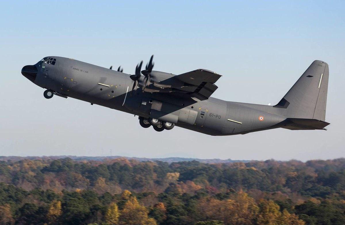 French Air Force Lockheed Martin C-130J Super Hercules
