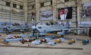 US delivers four aircraft to the Afghan Air Force