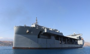 "The Expeditionary Sea Base USS Hershel ""Woody"" Williams (ESB 4)"