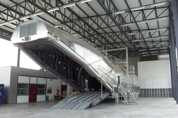 Rheinmetall's A400M Cargo Hold Part Task Trainer (CPTT)