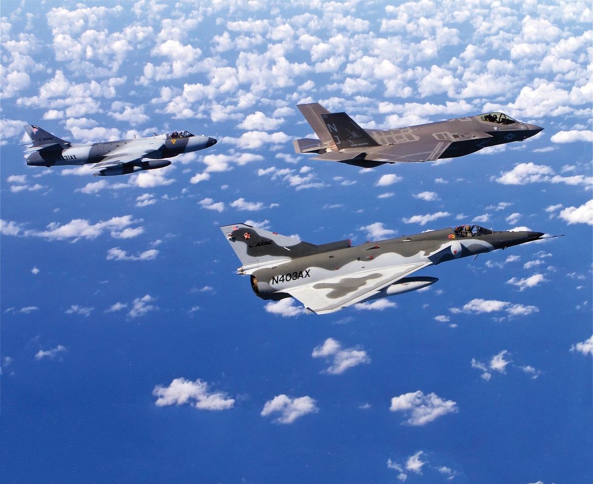 ATAC to Support US Eglin Air Force Base with Contracted Adversary Air Training
