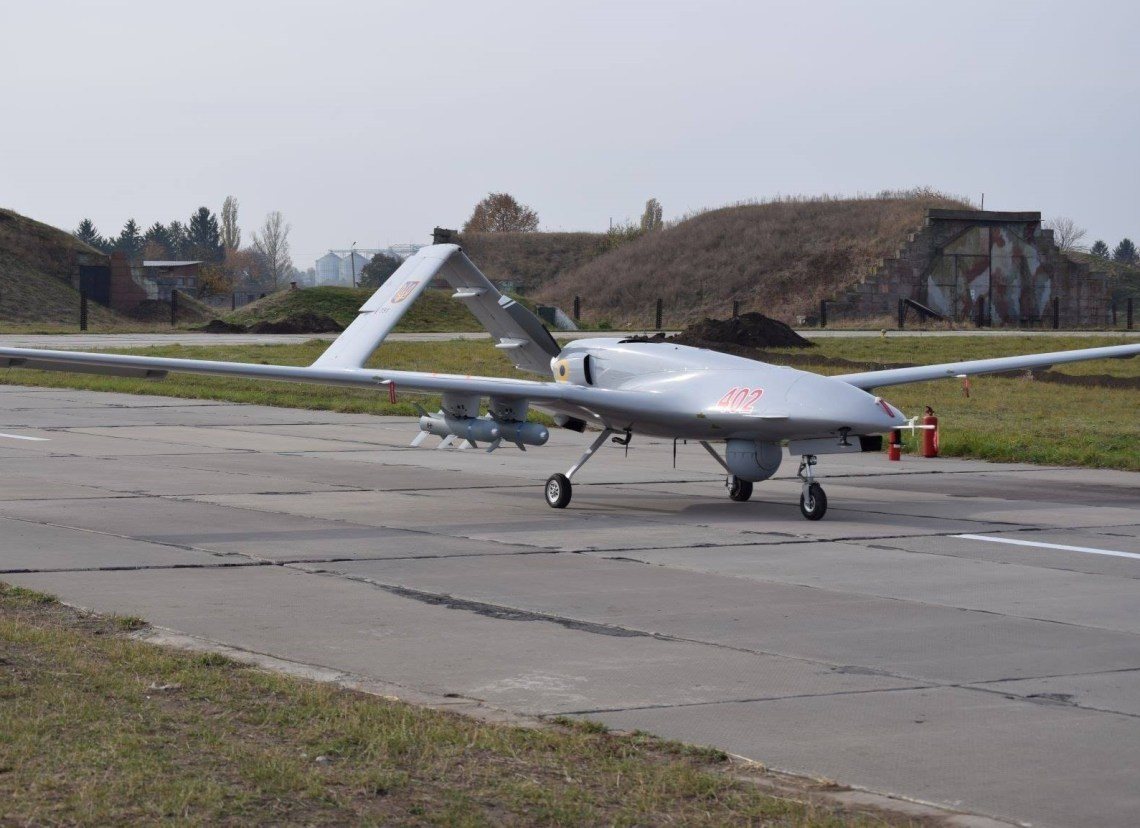Bayraktar TB2 medium altitude long endurance (MALE) unmanned combat aerial vehicle (UCAV)