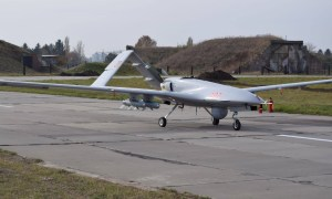 Bayraktar TB2 is a Turkish medium altitude long endurance (MALE) unmanned combat aerial vehicle (UCAV)
