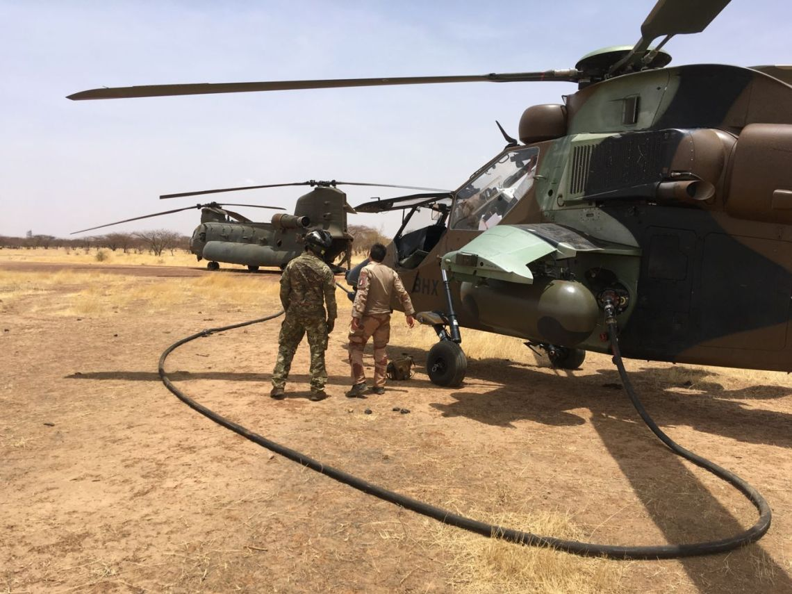 British Military Joint Helicopter (JHC) Command Supports Operations in Mali