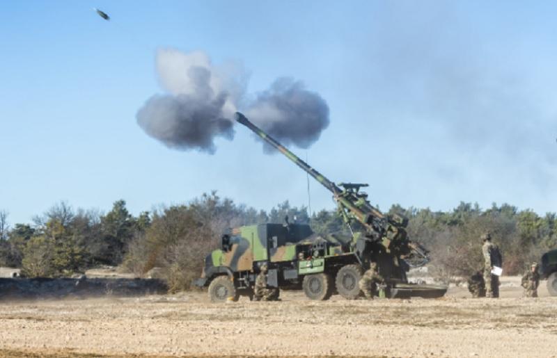 Caesar Self-Propelled Howitzer