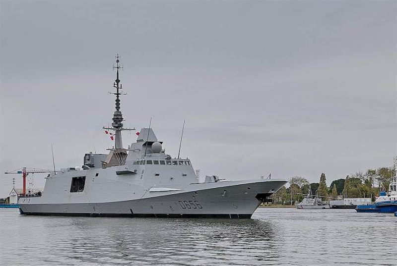 First French Navy Fremm Air-Defense Frigate Begins Sea Trials