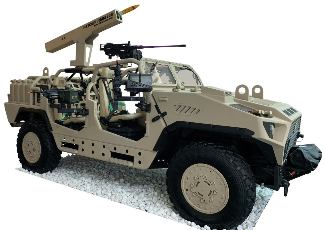 FLETCHER 2.75-inch Laser Guided Rocket Launcher