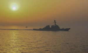 Guided Missile Destroyer USS Stout Sets New US Navy Record with 215 Days at Sea