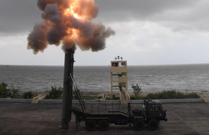 India Flight-Tests SMART Supersonic Torpedo Launcher