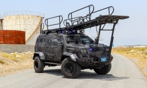International Armored Group Guardian APC Tactical Elevated System