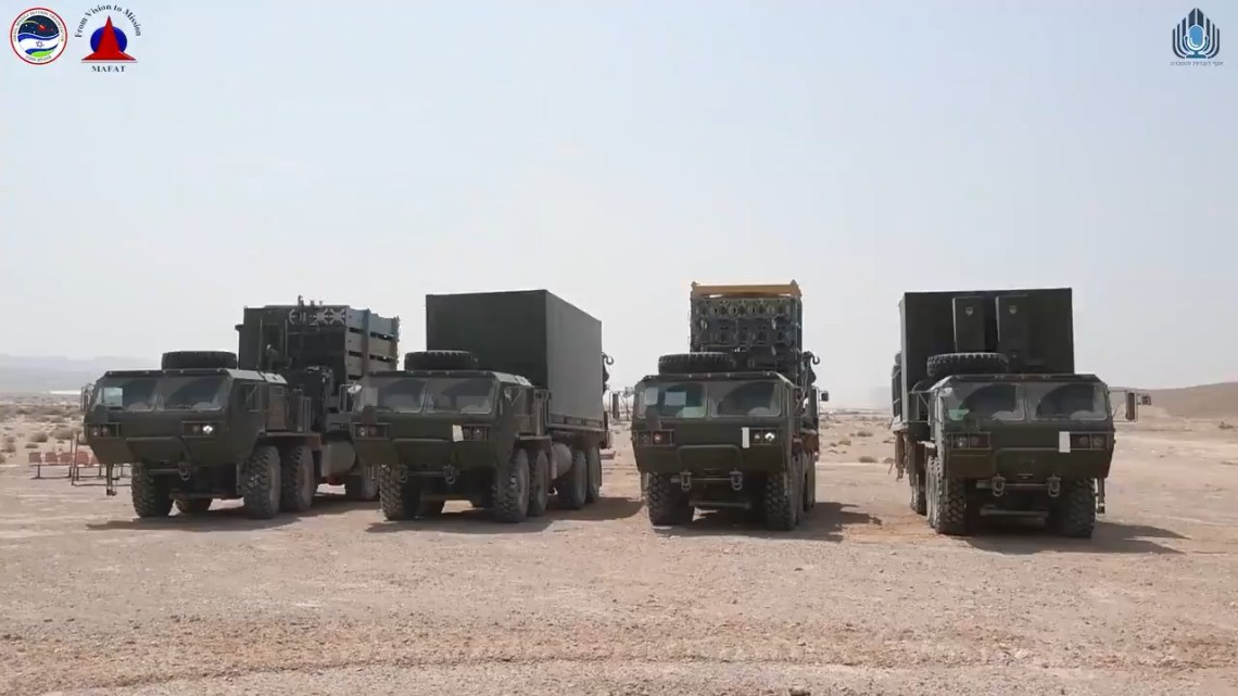 The second Iron Dome batteries will be delivered in the near future.