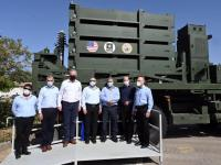 Israel Missile Defense Organization Delivers First Iron Dome Battery to US Army