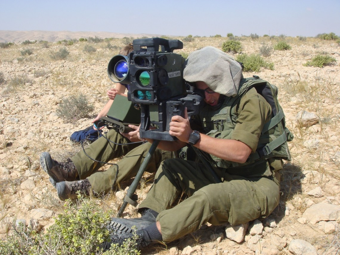 Rafael Advanced Defense System SPIKE  Command & Launcher Unit (CLU)