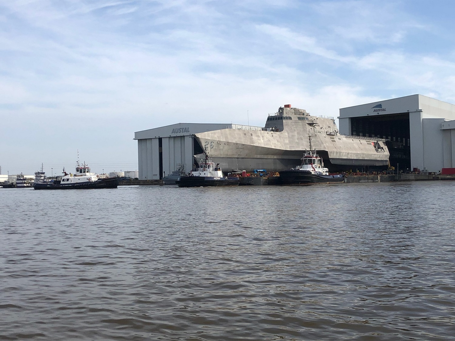 US Navy USS Mobile Completes Successful Acceptance Trial