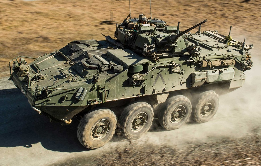 Twenty Unused NZLAV Remain in New Zealand Defence Force Storage