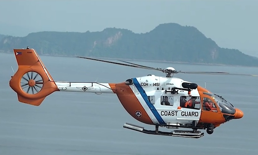 Philippine Coast Guard H145 Light Utility Helicopter